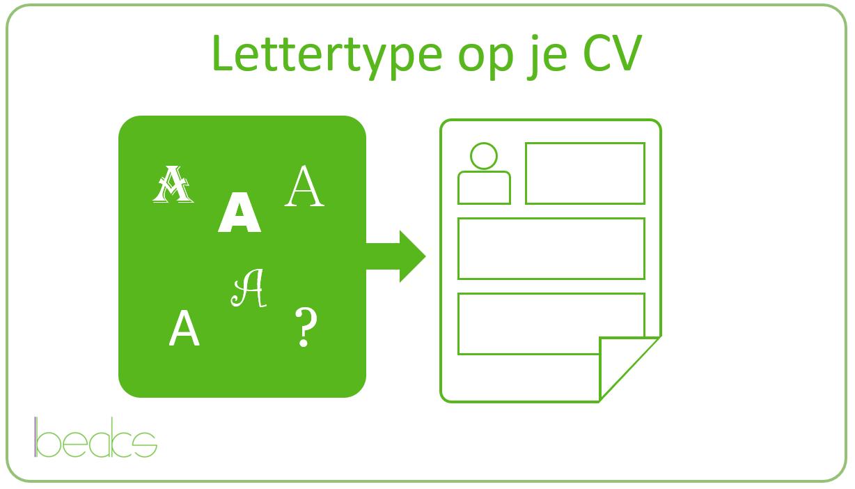cv lettertype