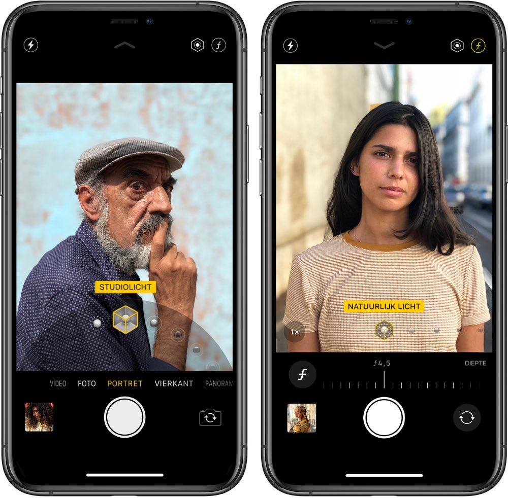 iphone portretmodus